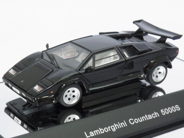 オートアート シグネーチャーモデル ランボルギーニ カウンタック 5000s Black 模型、ラジコン