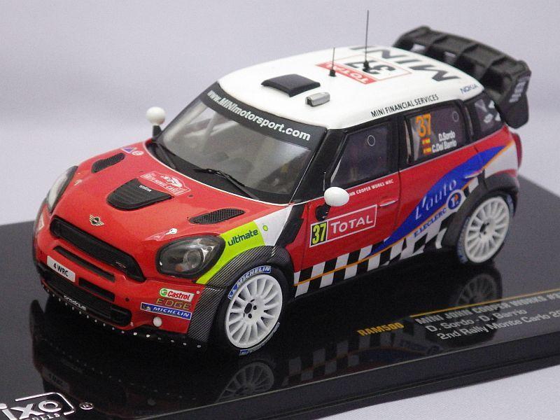 イクソ ミニ ジョンクーパーワークス #37 WRC 2nd ラリーモンテカルロ 2012 D.Sordo/D ...