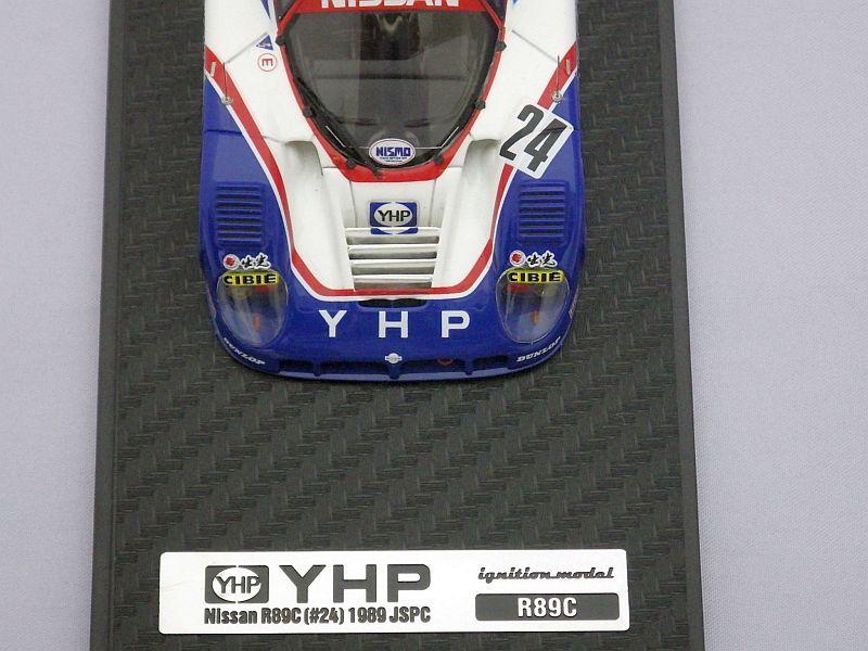 イグニッションモデル 日産 YHPニッサンR89C(#24) 1989 JSPC WHITE/RED/BLUE