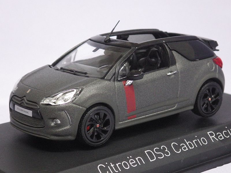 ノレブ シトロエン Ds3 Cabrio Racing 2014 Mat Gray Tada Tool Garage