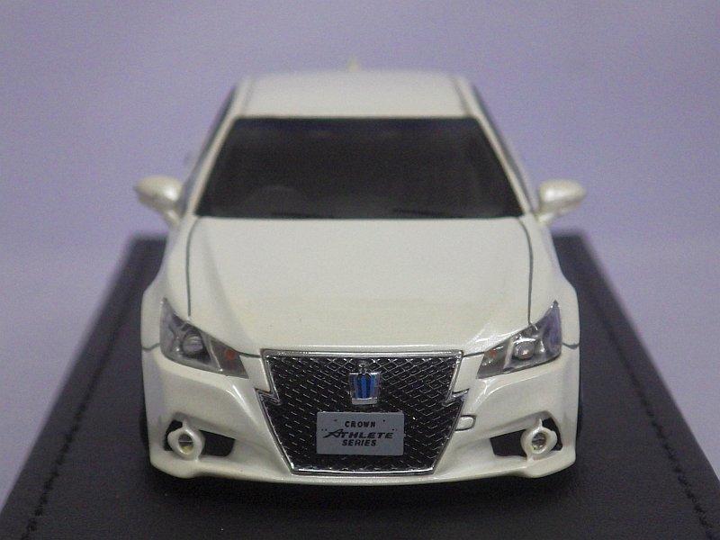 Ignition Model Toyota Crown Hybrid Athlete G Aws210 White Tada Tool Garage