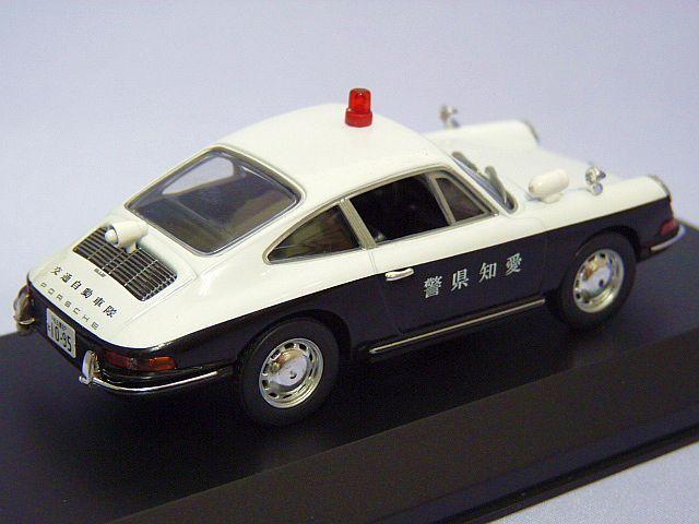 RAI'S  Porsche  912 愛知県警交通自動車隊車輌  WHITE/BLACK