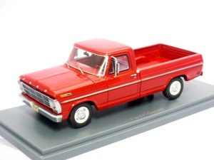 画像1: NEO FORD	F100 PickUp Truck 1968  RED