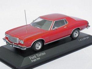画像1: ミニチャンプス フォード トリノ GT 1976 RED