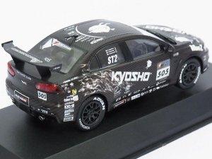 画像3: 京商 三菱 京商アリスモータース ランサーエボリューションX テストカー BLACK
