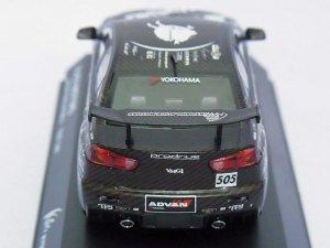 画像4: 京商 三菱 京商アリスモータース ランサーエボリューションX テストカー BLACK