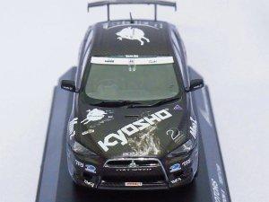 画像2: 京商 三菱 京商アリスモータース ランサーエボリューションX テストカー BLACK