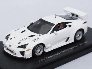 画像1: エブロ トヨタ レクサス LFA ニュルブルクリンク 24時間レース 2012 テストカー WHITE