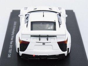 画像4: エブロ トヨタ レクサス LFA ニュルブルクリンク 24時間レース 2012 テストカー WHITE
