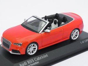 画像1: ミニチャンプス アウディ RS5 カブリオレ 2012 RED
