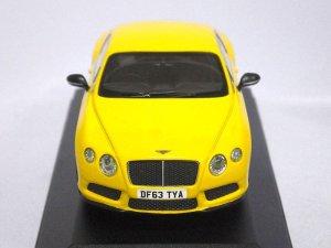 画像2: コーギー ベントレー コンチネンタル GT V8 S UK 'PRESS CAR' MONACO YELLOW