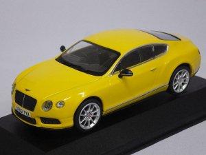 画像1: コーギー ベントレー コンチネンタル GT V8 S UK 'PRESS CAR' MONACO YELLOW