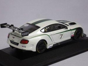 画像3: コーギー ベントレー コンチネンタルGT3 ラウンチカー WHITE