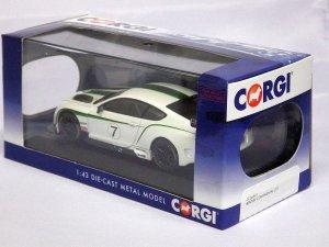 画像5: コーギー ベントレー コンチネンタルGT3 ラウンチカー WHITE