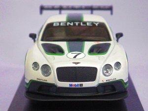 画像2: コーギー ベントレー コンチネンタルGT3 ラウンチカー WHITE