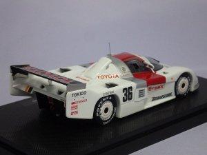 画像3: エブロ トヨタ トムス86C 1986 WEC Japan Fuji No.36 WHITE
