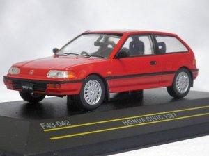 画像1: イクソ(ファースト43) ホンダ シビック 1987 RED