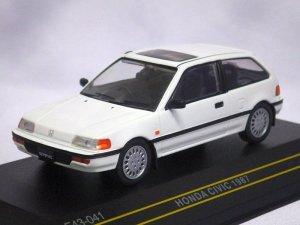 画像1: イクソ(ファースト43) ホンダ シビック 1987 WHITE
