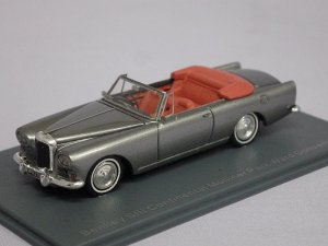画像1: NEO BENTLEY SIII Continental Mulliner Park Ward Convertible SILVER
