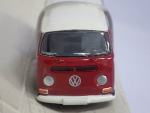 画像2: PremiumClassiXXs(Bubmobile1:87) VW T2a BUS RED