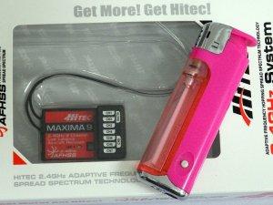画像4: HITEC AFHSS 2.4GHz 9ch 小型受信機 MAXIMA 9