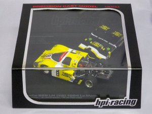 画像1: HPI ポルシェ 956 LH (#8) 1984 LeMans YELLOW