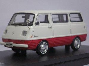 画像1: ハイストーリー マツダ ボンゴ 1000(1968) WHITE/RED