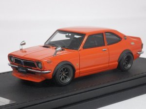 画像1: Ignition Model TOYOTA Sprinter Trueno(TE27) ORANGE