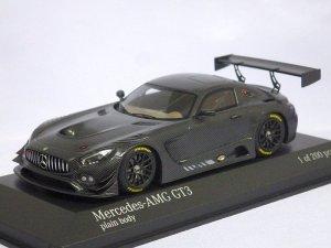 画像1: ミニチャンプス メルセデスベンツ Mercedes-AMG GT3 plain body 2016 Carbon