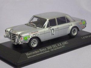 画像1: ミニチャンプス メルセデスベンツ 300SEL6.8AMG Behmann/Jabouille/Dolhem 12h ポールリカール 1971 SILVER