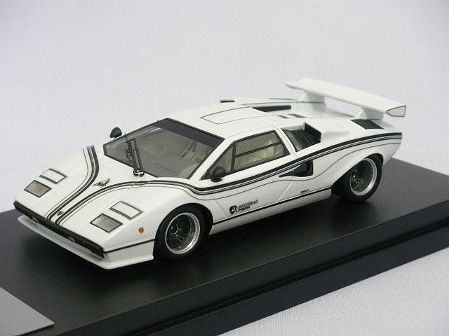 画像1 ベルテンポ特注 ランボルギーニ カウンタック LP500R 1977 WHITE